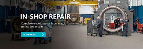 Electric Motor Shop by Integrated Power Services Service And Repair For