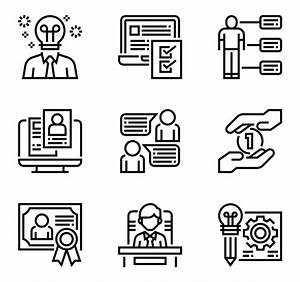 13 resume icon packs - Vector icon packs - SVG, PSD, PNG ...