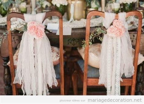 deco chaise mariage fleurs décoration mariage site dedié à donner des
