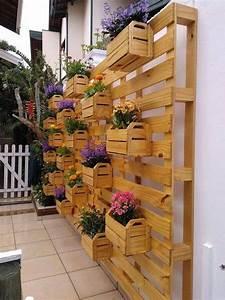 Palette En Bois Pas Cher : jardini re en palette de bois 74 mod les faire soi m me ~ Dallasstarsshop.com Idées de Décoration
