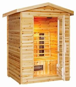 2 Mann Sauna : burlington 1 2 person outdoor infrared sauna ~ Lizthompson.info Haus und Dekorationen