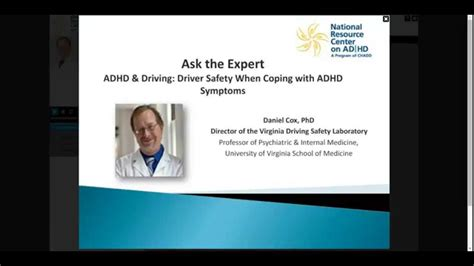expert adhd driving driver safety  coping