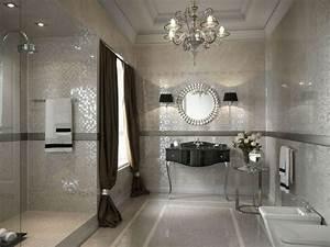 Badezimmer Farbe Statt Fliesen : klassische badgestaltung ideen mosaikfliesen farbe ~ Michelbontemps.com Haus und Dekorationen