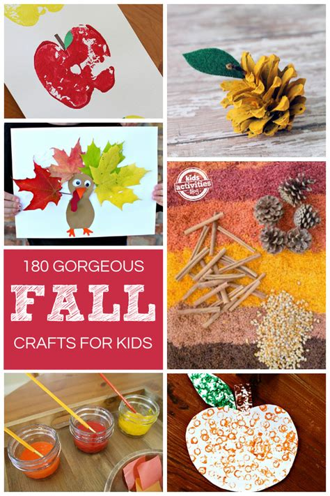 fall crafts 180 gorgeous fall crafts kids activities blog howldb