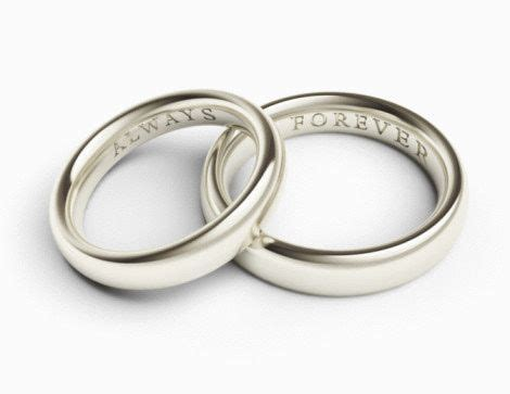 personalize your wedding rings with the engraved inscription in 2019 this is