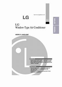 Download Free Pdf For Lg Lwhd1200r Air Conditioner Manual