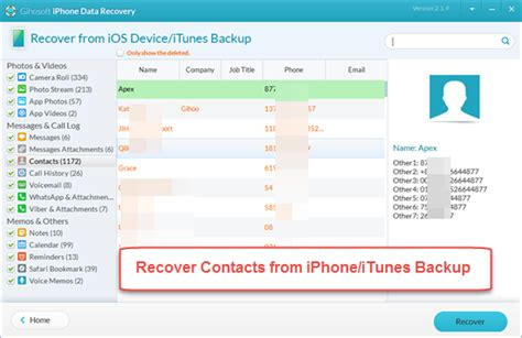 recover phone contacts iphone contacts disappeared how to restore contacts on