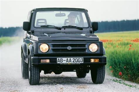 gebrauchtwagen test suzuki samurai autobildde