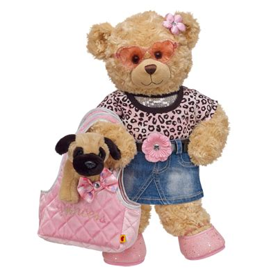 pals happy hugs teddy mini pug build  bear workshop   teddy bear clothes