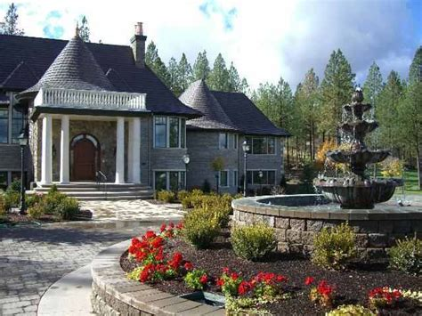 driveway roundabout ideas love this fountain and roundabout driveway home sweet home pinterest love this love and