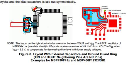 kitchen layout island resolved pcb design around 32768hz msp low