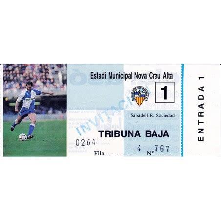 This fc barcelona vs real sociedad football match will certainly not. Sabadell v Real Sociedad Liga Primera División 1986-87 ticket
