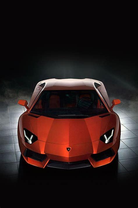 freeios red cars lamborghini aventador parallax hd