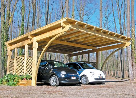 Wooden Car Ports by Exterior Back To Nature Wood Car Ports Wood Car Ports
