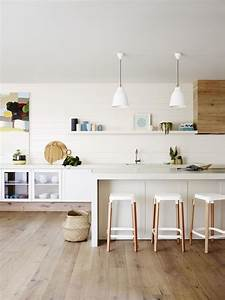 White, And, Wood, Is, The, Trendiest, Combination, For, Kitchen, Design