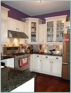 paint color for small kitchen with white cabinets With kitchen cabinet white paint colors