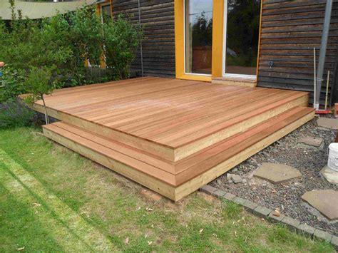 Gartengestaltung Mit Holzterrasse by Pin Holzterrassen On