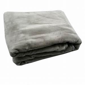 Schöner Leben Outlet : fleece decke kuscheldecke flauschdecke grau 150x200cm ebay ~ Orissabook.com Haus und Dekorationen