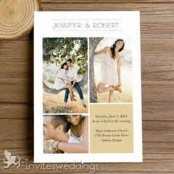 cheap wedding invitation kits cheap rustic photo wedding invitation kits iwi316 wedding invitations invitesweddings