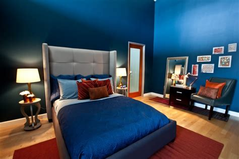 Schlafzimmer Blau  50 Blaue Schlafbereiche, Die Schlaf