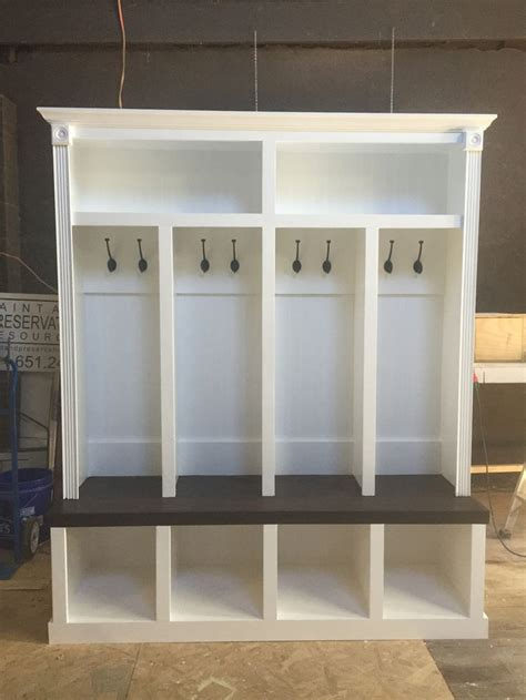how to build a mudroom bench with cubbies entryway locker dropzone for mudroom 4 cubby entryway