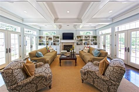 Decorative French Doors by Town Amp Country Mo Home Addition Traditional Family Room