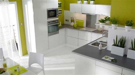 couleur mur cuisine blanche cuisine moderne