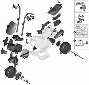 Peg Perego Ducati 1098 Cycle Parts