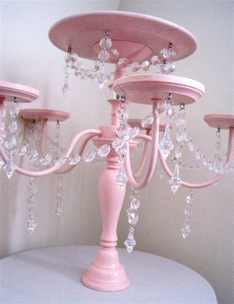 cake and cupcake displays chandelier cake and