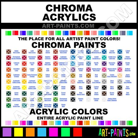 chroma acrylic paint brands chroma paint brands acrylic