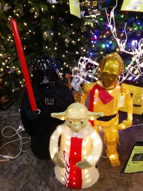 star wars tinsel yard decor darth vader cpo yoda