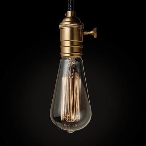 interior decoration e27 vintage edison light bulb 40w