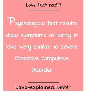 Psychological test results show symptoms of being in love ...