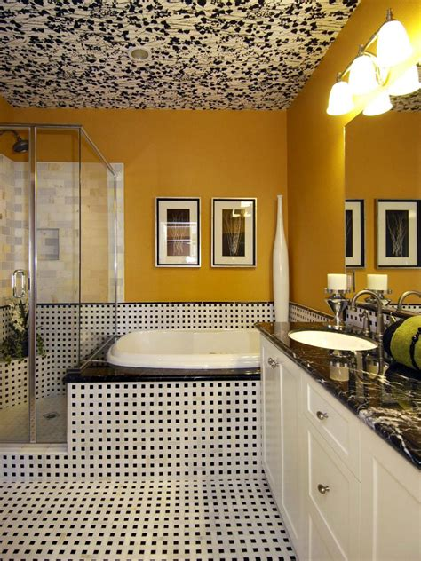 Bright Kitchen Lighting Ideas - yellow bathrooms 7 bright ideas hgtv