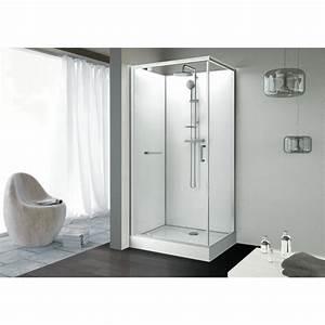cabine de douche rectangulaire 100 x 80 cm porte With ronal porte douche