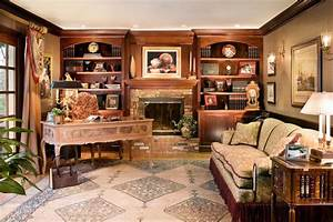 20 library home office designs decorating ideas design With home office library design ideas