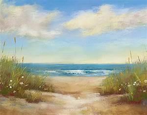 Strandbilder Auf Leinwand : karen margulis serenity i keilrahmen bild leinwand meer strand d nen sommer ebay ~ Watch28wear.com Haus und Dekorationen