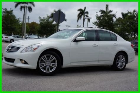 how it works cars 2012 infiniti g25 navigation system sell used 2011 infiniti g25 2 5l v6 all wheel drive sedan premium rear view camera in pompano