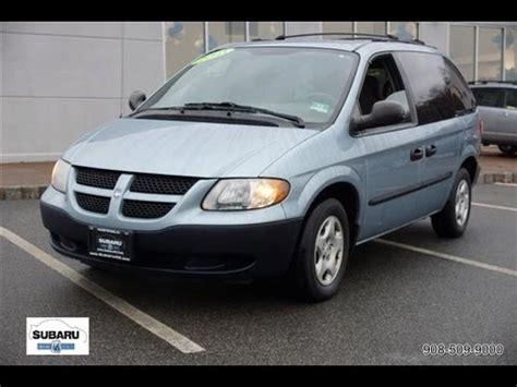 2003 Dodge Caravan Se Youtube