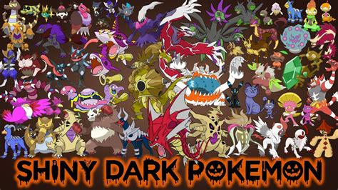 shiny dark type pokemon youtube