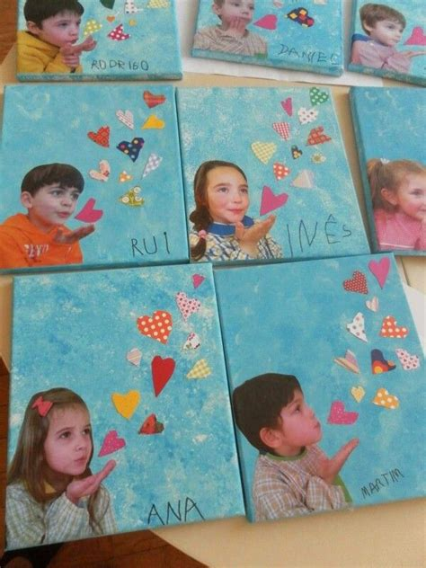photo  canvas kids art  mothers day cute