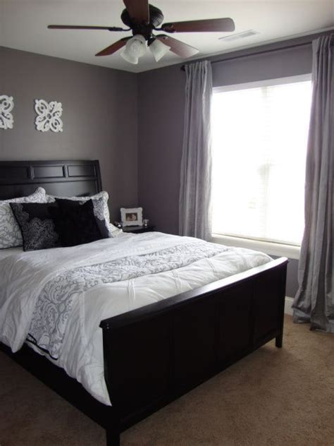 Bedroom Decorating Ideas For Purple Grey by Gray Purple Guest Room Purple Grey Guest Bedroom