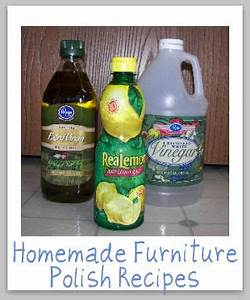homemade furniture polish recipes With homemade organic furniture polish