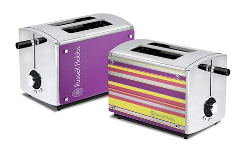 hobbs toaster purple colour your kitchen with hobbs refresh