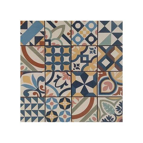 plaque imitation carrelage pour cuisine mosaïque achat mosaique aspect carreau de ciment