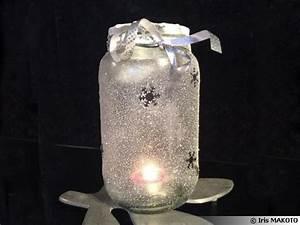 Ouvrir Un Pot De Peinture : recycler les bocaux en verre en d coration de no l ~ Medecine-chirurgie-esthetiques.com Avis de Voitures