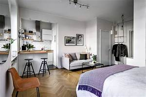Small, 1, Bedroom, Apartment, Interior, Design