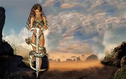Fantasy Naked Wallpapers Desktop Games Models Pc