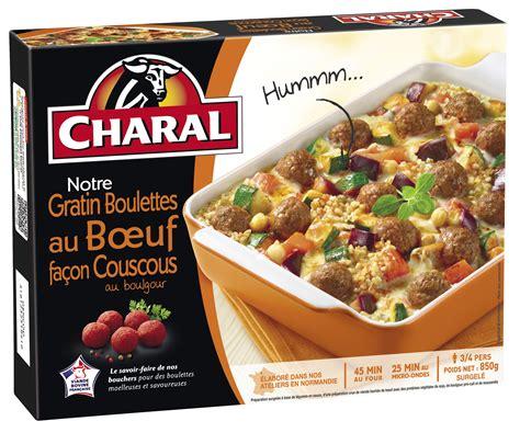 vente plats cuisin駸 charal se lance sur les plats cuisinés surgelés frais ls et produits surgelés