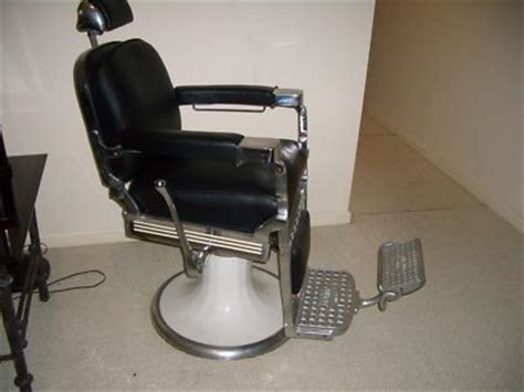 classic emil paidar barber chair late 1940s early 50s